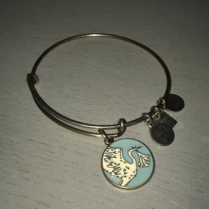 Alex and Ani baby boy bangle